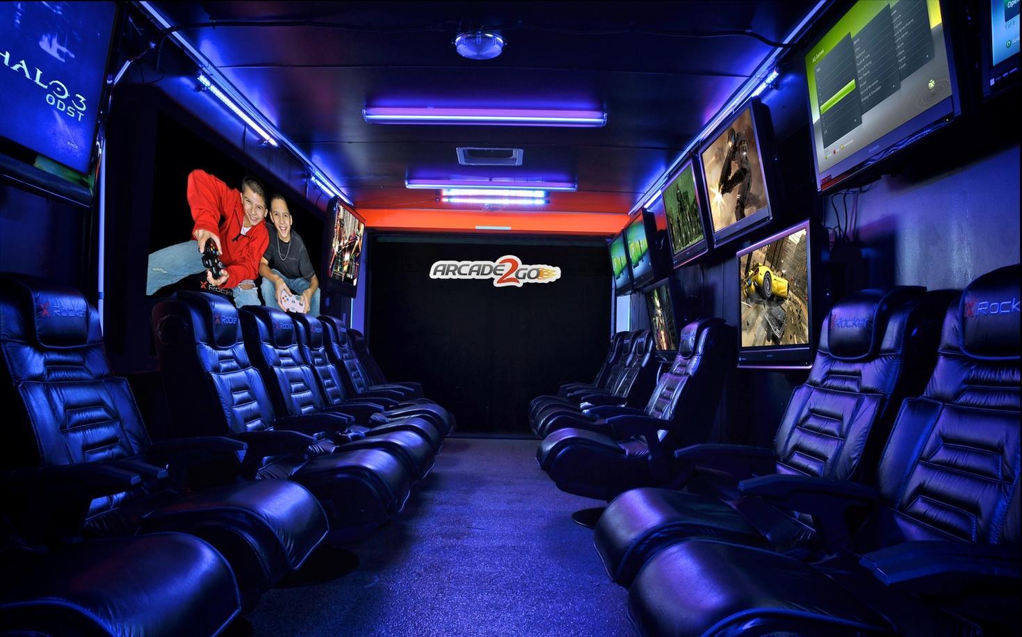 arcade machine background