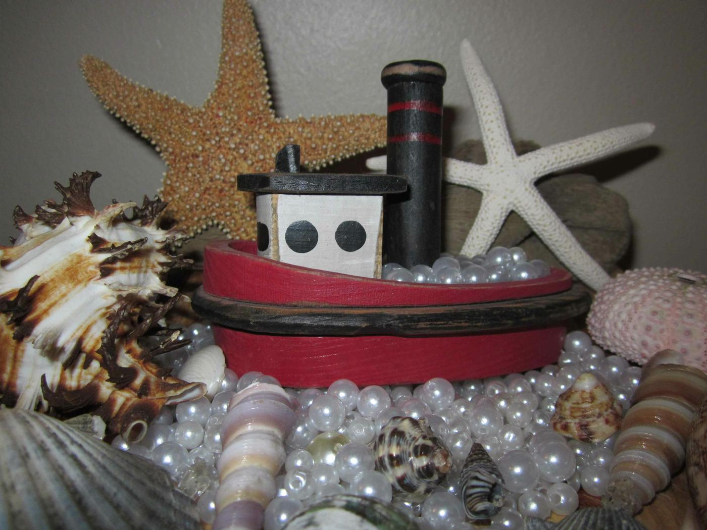 Enchanted Seashells, Confessions of a Tugboat Captain