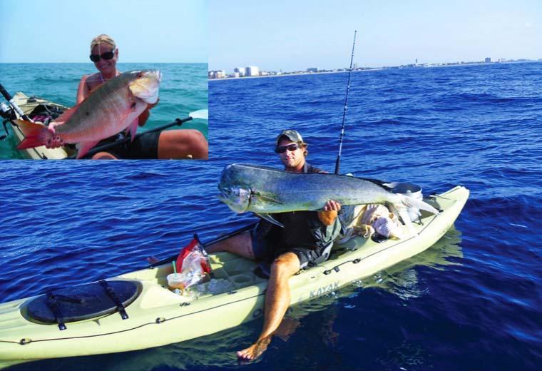 Kayak fishing offshore for Offshore kayak fishing