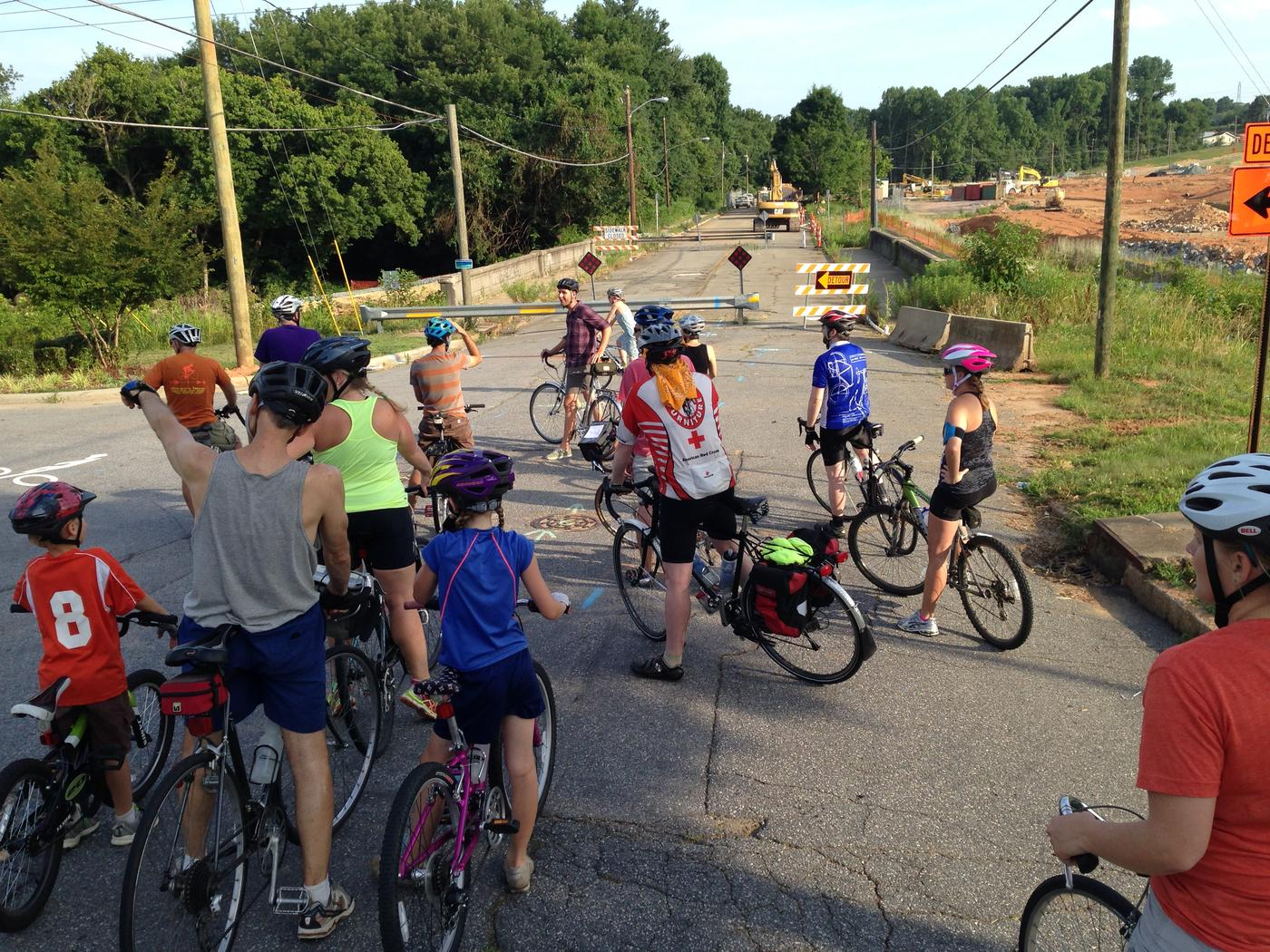 Winston-Salem Community Bike Ride