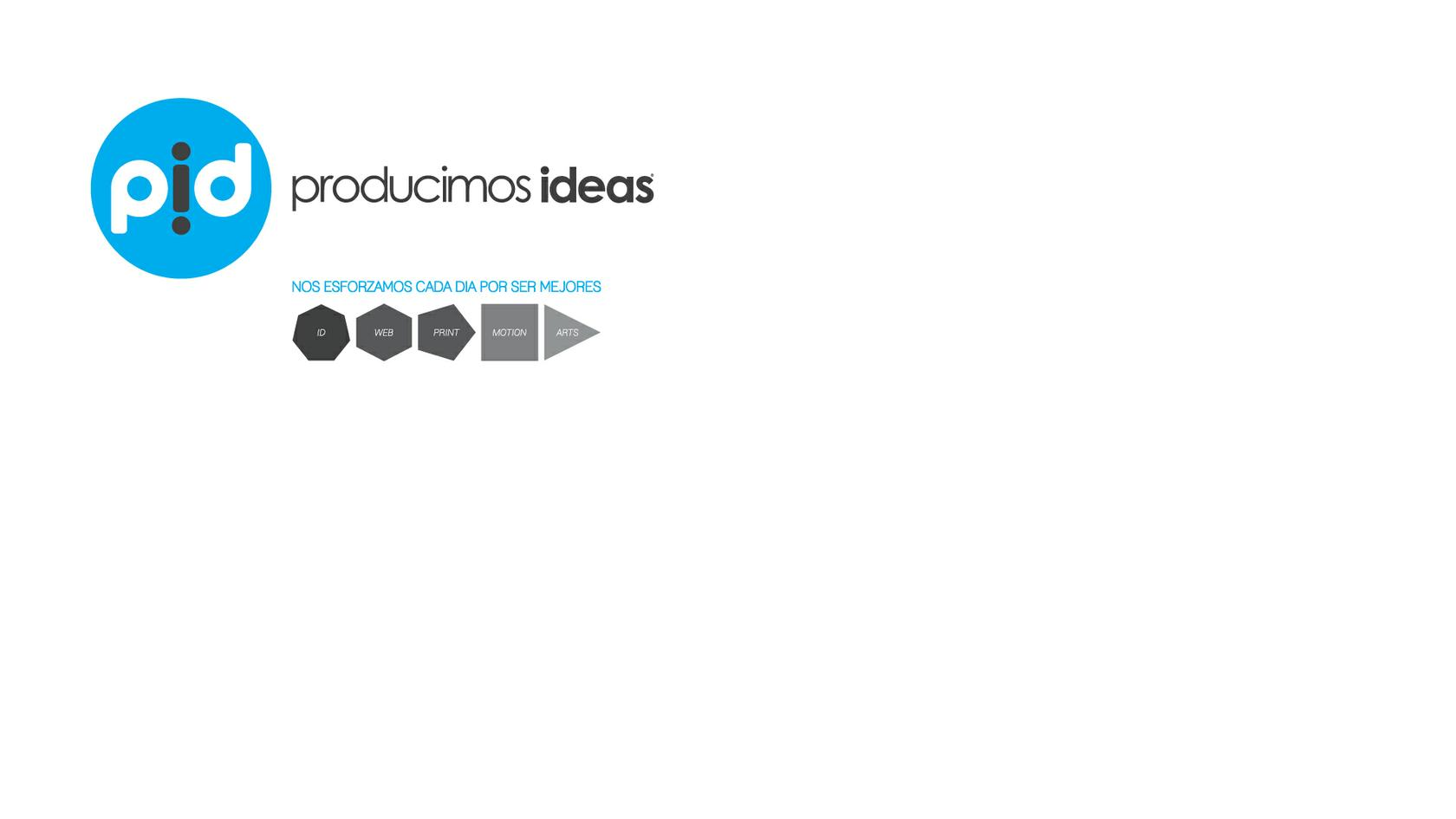 pid producimos ideas